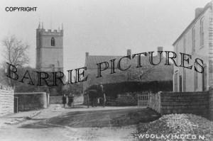 Woolavington, Village and Church c1910