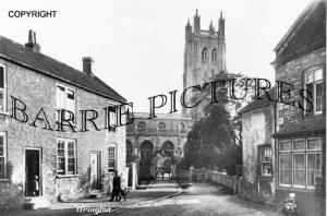 Wrington, Church c1900