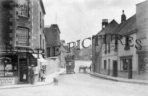 Warminster, High Street c1920