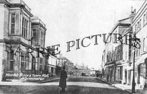 Warminster, The Market Place and Town Hall c1930