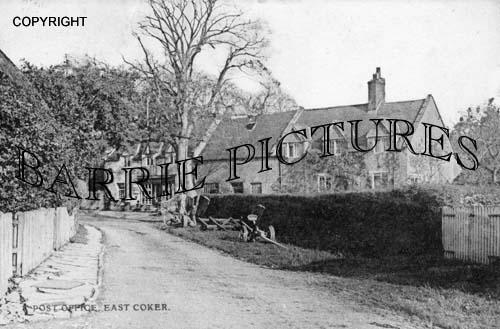 East Coker, Post Office c1905