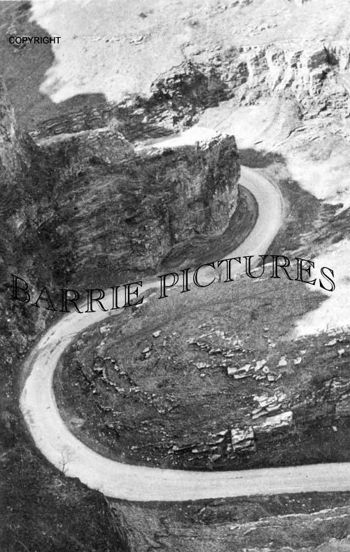 Cheddar, The Horseshoe Bend c1920