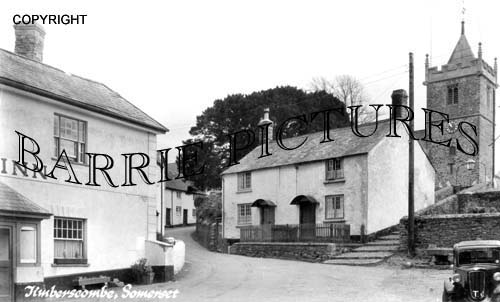 Timberscombe, Village 1948