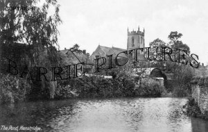 Henstridge, The Pond c1930