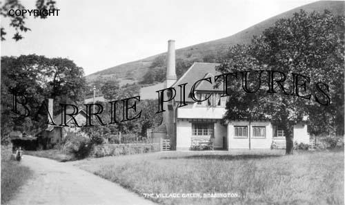 Bossington, The Village Green c1950