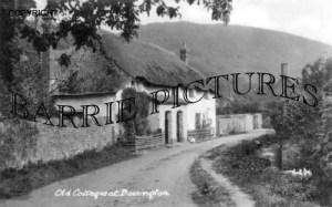 Bossington, Old Cottages c1930