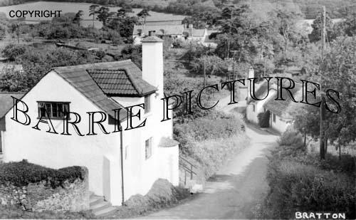 Bratton, Village c1940