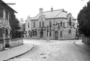Radstock, Victoria Hall c1910