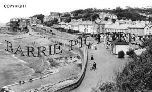 Clevedon, Beach & Explanade c1930