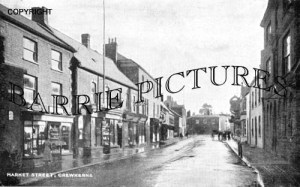 Crewkerne, Market Street c1920