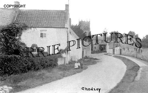 Chedzoy, Village and Church c1920