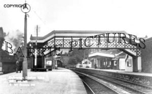 Dulverton, Station 1955