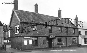 Nether Stowey, George Hotel c1932