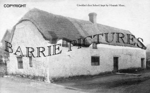 Cheddar, First School c1910