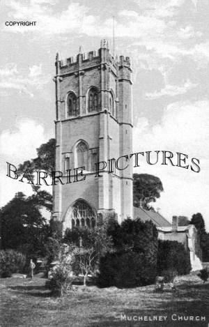 Muchelney, Church c1920