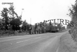 Henstridge, The Old Petrol Pumps 1964