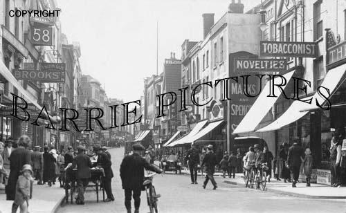 Bristol, Castle Street 1924