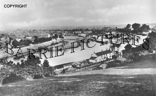 Bristol, Cumberland Basin 1900