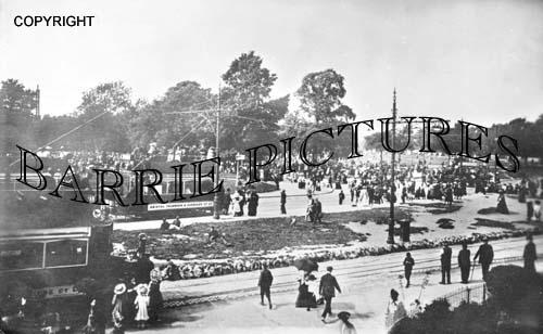 Bristol, Durdam Downs Tramways Junction 1900