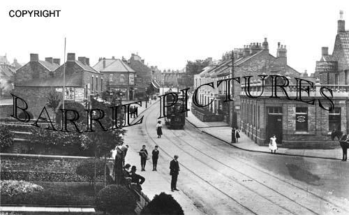 Hanham, High Street 1908
