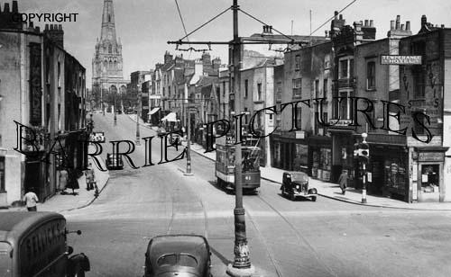 Bristol, Redcliff Hill 1938