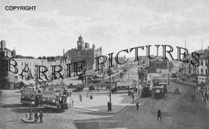 Bristol, Tramway Centre / St Augustines 1915