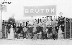 Bruton, Station c1910