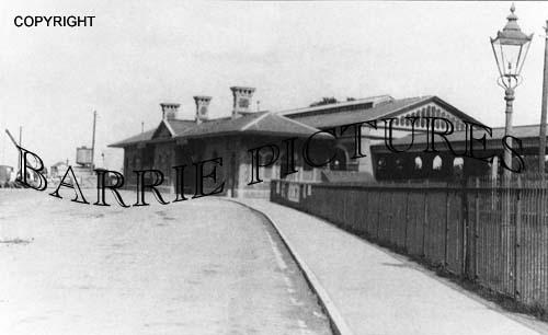 Chard, Station c1910