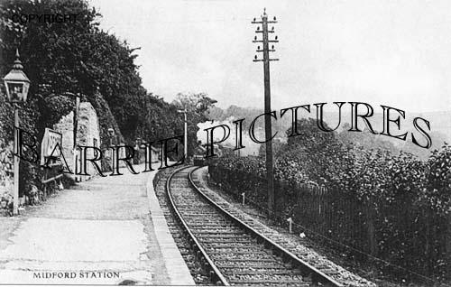 Midford, Station c1900