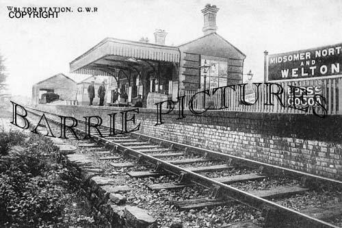 Welton, Station c1900