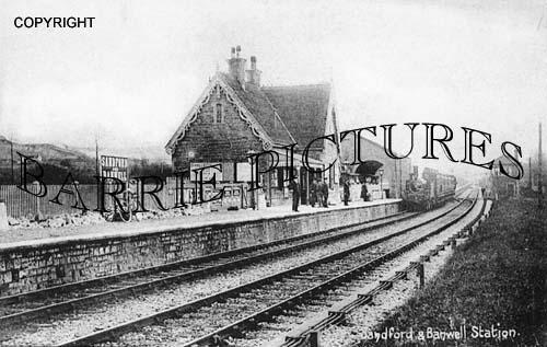 Sandford, Station c1900