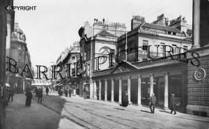 Bath, Stall Street 1907