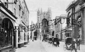 Bath, Stall Street c1890