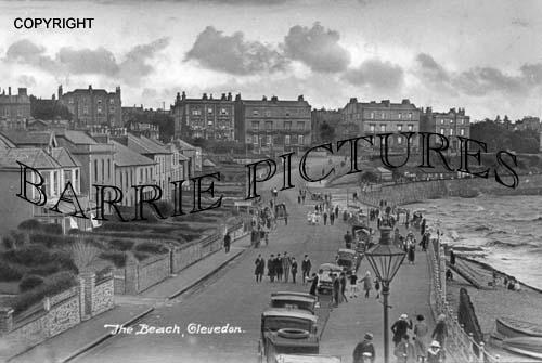 Clevedon, The Beach c1925