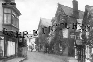 Porlock, High Street 1949