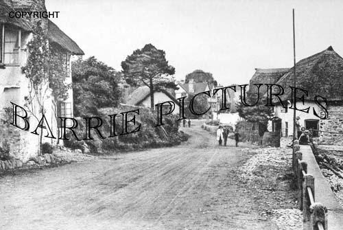Porlock Weir, The Village 1920