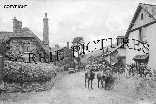 Allerford, Village 1937