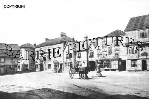Axbridge, Market Square c1905