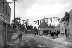 Backwell, West Town Main Road c1910