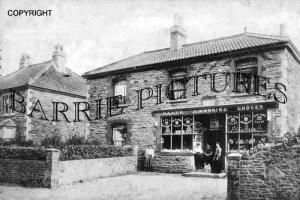 Backwell, West Town Post Office 1905