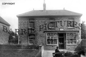 Backwell, West Town Post Office c1905