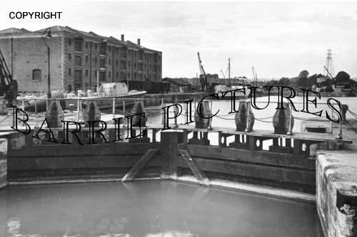 Bridgwater, Dock Entrance c1960