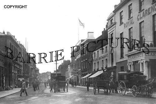 Bridgwater, High Street 1916