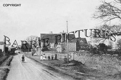 Winterbourne, The Street c1890