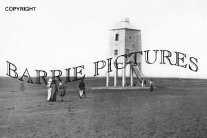 Burnham, Lighthouse on Sands c1910