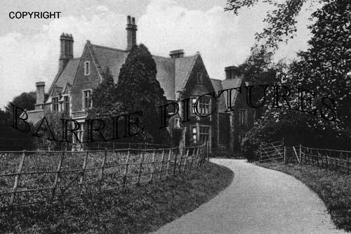 Castle Cary, Vicarage c1910