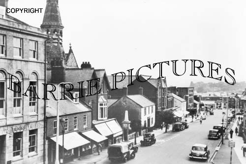 Chard, Fore Street c1960