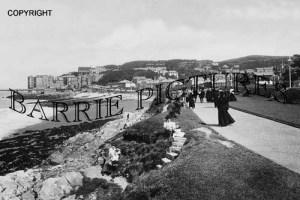 Clevedon, Green Beach 1907