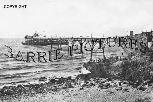 Clevedon, Pier c1905
