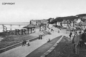 Clevedon, The Parade 1906